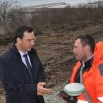 Димитр Николов - строительство дороги в порт Сарафово