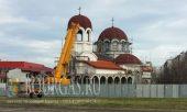 На храме Св Николай Чудотворец который находится в ЖК Меден Рудник - выполнили кровельные работы