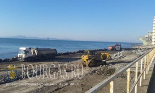Началось строительство порта для рыбаков в Поморие