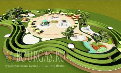 """парк """"Озеро"""" - пока проект"""