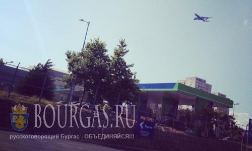 Самолеты над Бургасом будут шуметь меньше