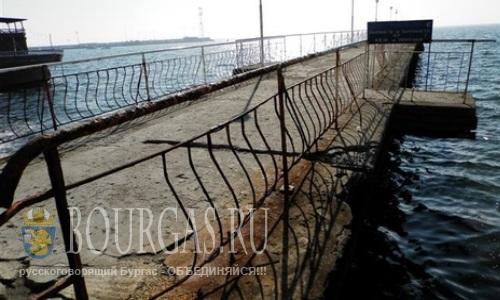 Старый причал в Поморие - будет реконструирован