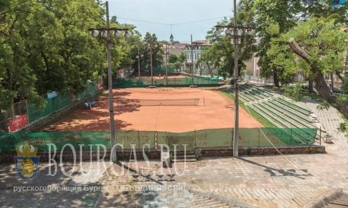 В Бургасе планируют построить новые современные теннисный спортивный комплекс