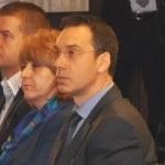 Димитар Николов на жеребьевке ЕВРО-2015