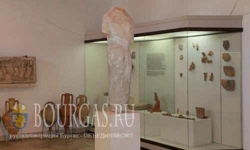 Исторические артефакты из музеев Бургаса, Несебра и Созополя уехали во Францию