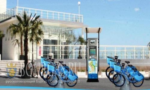 Первые 6 интерактивных терминалов системы аренды велосипедов заработают в Бургасе в начале мая