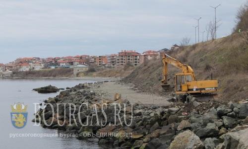 Реконструкция набережной в Царево