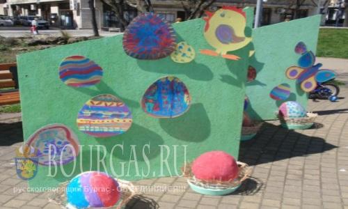 Сегодня дети и их родители приобщились к празднованию Пасхи