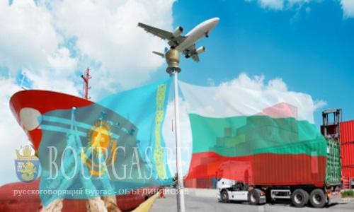 Товарооборот между Болгарией и Казахстаном - растет