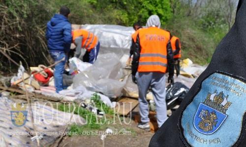В Бургасе ликвидировали небольшое цыганское поселение