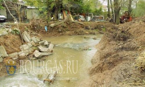 В Бургасе собрались изменить русло реки Отманлийской