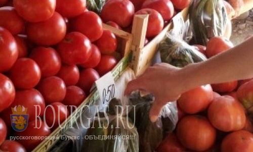 Цены на овощи в Болгарии постепенно снижаются
