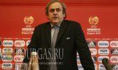 Президент УЕФА Мишель Платини -прилетел в Болгарию