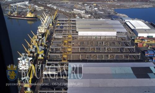 Сегодня Порт Бургас Болгария празднует юбилей - 112 лет со дня открытия