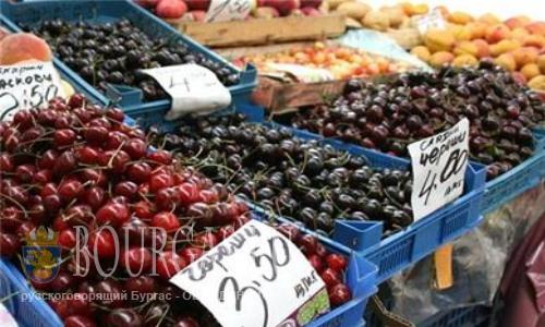 В Болгарии, как и везде - любят черешню