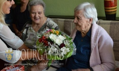 Сегодня отмечает свое 100-летие жительница Волк Дола