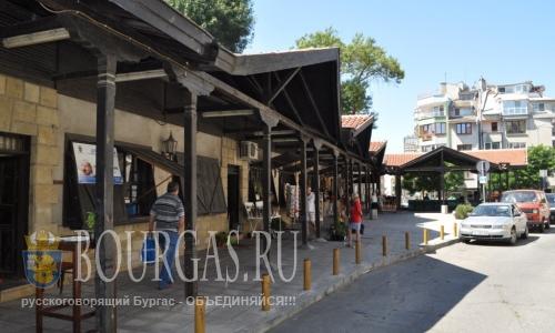 Славейковый базар в Бургасе