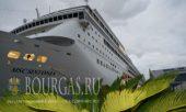 круизный лайнер Симфония в Бургасе