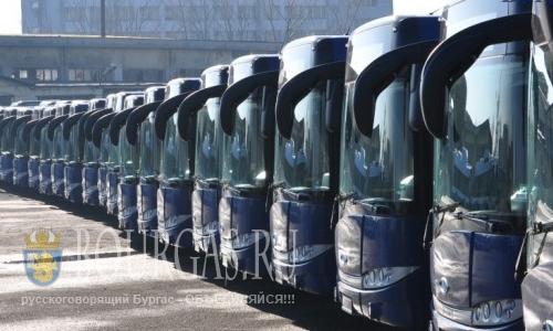 Болгария Бургас - новое расписание общественного транспорта