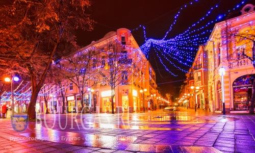 Болгария Рождество - Бургас Рождество