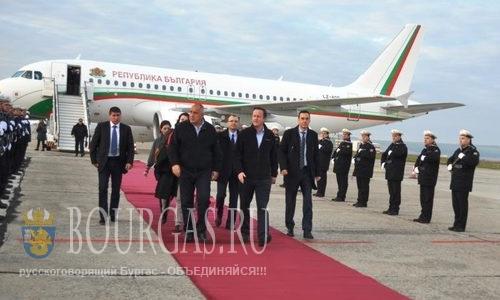Дэвид Камерон и Бойко Борисов в Бургасе