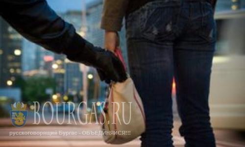 На улице Бургаса совершен грабеж