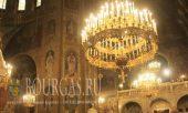 Праздничная литургия в канун Рождества