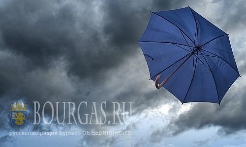Желтый код в Болгарии, низкие температуры в Болгарии, Болгарию будет штормить