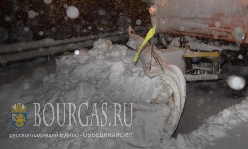 болгария погода - снегопады блокировали трассы, Болгарией и Грецией
