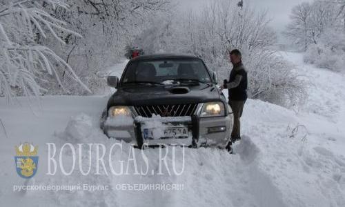 Болгария в снежной ловушке