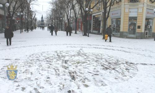 Бургас, центр, январь 2016 года
