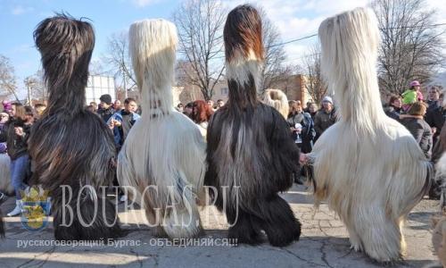 Фестиваль ряженых прошел в Благоевграде