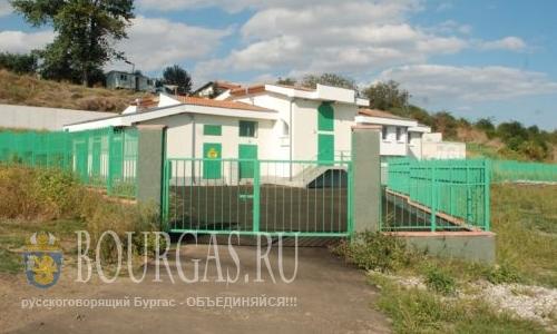 новая канализационная станция в Сарафово
