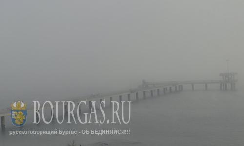 Порты Бургаса закрыты