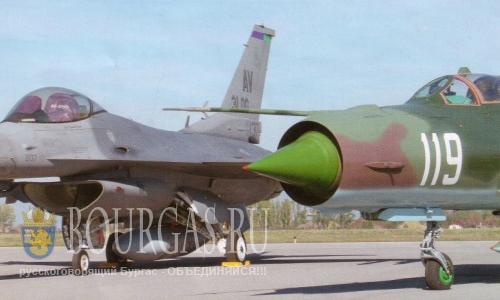 Самолеты НАТО прикроют небо Болгарии