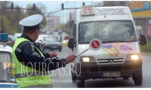 В Бургасе много недисциплинированных водителей