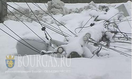 В Бургасе проблемы с подачей электроэнергии