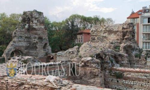"""В Варне восстановят """"Римские бани"""""""