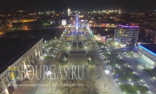 Вечерний Бургас, январь 2016 года