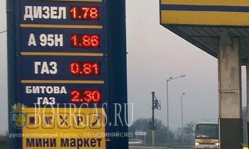 Война на болгарском топливном рынке, бензин в Болгарии
