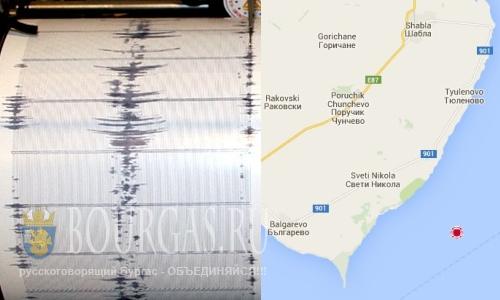 Землетрясение в Варне
