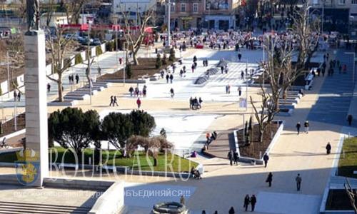 Бургас Болгария площадь Тройката