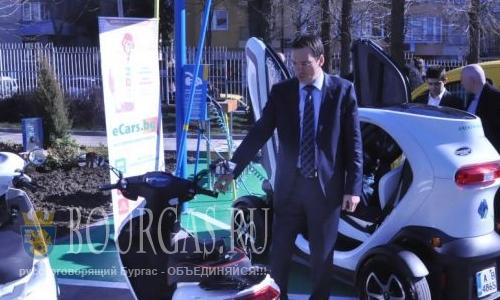 Бургас наводнят заправки для электромобилей