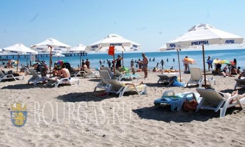 Шезлонги и зонтики в Бургасе станут бесплатные, Шезлонг и пляжный зонт в Болгарии