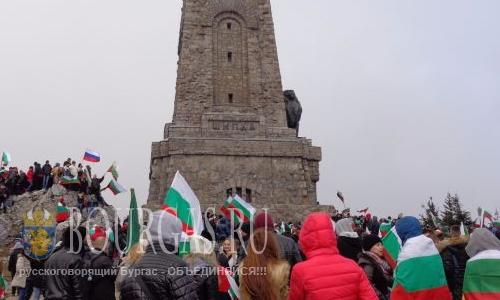 3-е Марта на Шипке отпраздновали 70000 болгар