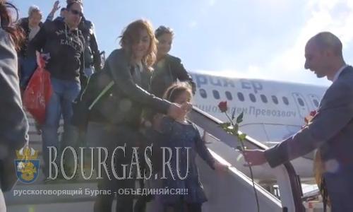 Аэропорт Бургаса принял первый чартер в текущем сезоне