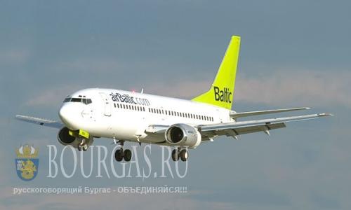 авиакомпания АirBaltic в Болгарии