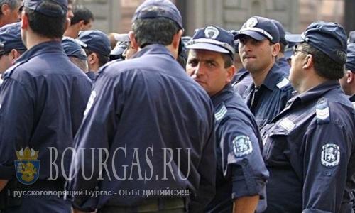 Полицейские Варны готовятся к акции протеста
