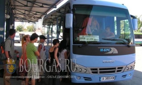 Простои туристических автобусов в Бургасе ограничат