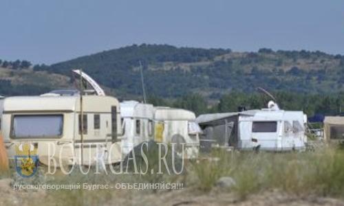 В Болгарии кемпинги на природе объявлены вне закона